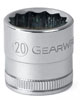 GearWrench ½½ Dr. 12 Pt. Std. Metric Socket, 21mm