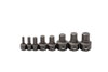 GearWrench Metric Hex Ratcheting Wrench Insert Bit Set, 8pc
