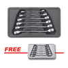 GearWrench 6Pc SAE Flare Nut Wrench Set w/ FREE 6Pc Metric Flare Nut Wrench Set