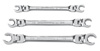 GearWrench 3 pc. Flex Flare Nut Wrench Set, SAE