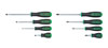 GearWrench 8 Pc. Combination Bright Green Dual Material Screwdriver Set