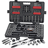 Gear Wrench 114 pc. Large SAE/Metric Ratcheting Tap and Die Set