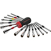 GearWrench 16 Pc. SAE/Metric Ratcheting Nutdriver Set