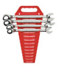 GearWrench Reversible Combination Ratcheting Wrench Completer Set SAE, 4pc.