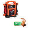 Jump-N-Carry 12V/1700AMP Orange Jump W/ FREE 21 LED Waterproof Flex Light With Magnet
