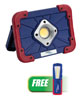 Jump-N-Carry COB LED Rechargeable Flood Light w/FREE COB LED Work Light MAX 300LM