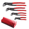 Knipex 4 Piece Cobra® Pliers Set - with FREE 10 Piece Tool Holder