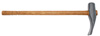 "Ken-Tool 30"" Wood Handled Duck-Billed Bead Breaking Wedge"