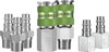 Legacy Manufacturing Company 7pc Coupler & Plug Kit 3/8 in NPT Steel/Aluminum
