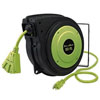 "Legacy Manufacturing Company Flexzilla 5/8"" x 50', ZillaGreen Electrical Cord w/ 3/4"" GHT ends"