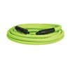 "Legacy Mfg. Co. 3/8"" x 25' Flexzilla® ZillaGreen™ Air Hose with 1/4"" Ends"