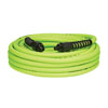 "Legacy Manufacturing Company Flexzilla Pro 3/8"" x 50' ZillaGreen air hose w/ 1/4"" MNPT ends and bend restrictors"