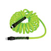 "Legacy Manufacturing Company 15' Flexzilla Recoil Air Hose 1/4"" ID x 1/4"" MNPT"