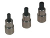 Lisle 3 Pc. Brake Caliper Bit Set