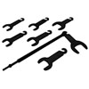 Lisle 7 Pc. Pneumatic  Fan Clutch Wrench Set to Remove & Install