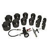 Lisle 14 Pc. Turbo Air System Test Kit with Smoke Adapter