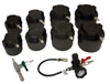 Lisle 10 Pc. HD Turbo Air System Test Kit with Smoke Adapter