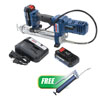 Lincoln Industrial 12V Li-Ion PowerLuber Two Battery Kit w/FREE Lever Grease Gun