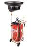 Lincoln Industrial 25-Gallon Used Fluid Combo Drain and Evacuator
