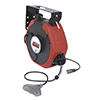 Lincoln Industrial 125 VAC/12A Medium Duty 50' Power Cord and Light Reel