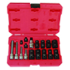 LTI Tools 17 Piece Foreign and Domestic Brake Caliper Socket Kit