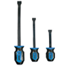 Mayhew Tools 3 Pc. Dominator Curved Pry Bar Set, Blue