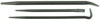 Mayhew Tools 3 Piece Line-Up Pry Bar Set
