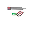 Mayhew Tools 3 Pc. Dominator Long & HD Pry Bar Set w/FREE 4 Pc. Dominator Straight Scalper Set