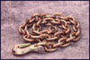 """Mo-Clamp 3/8"""" x 6' Chain with Grab Hook"""
