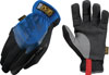 Mechanix Wear FastFit® Easy On/Off Elastic Cuff Gloves, Blue, Large