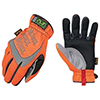 Mechanix Wear Hi-Viz M-Pact® Impact Gloves, Hi-Viz Orange, Large