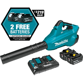 Makita 18V X2 BLOWER Kit w/4 BAT