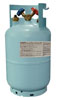"Mastercool Blue 1/2"" ACME 30 lb. D.O.T-Approved Recovery Cylinder with Float Switch"