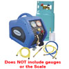 Mastercool Complete A/C Recovery  System with a 30 Lb DOT Tank