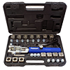 Mastercool Universal Hydraulic Flaring Tool Set With Tube Cutter