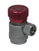 Mastercool High Side Manual R134a Safety Lock Coupler, 14MM-F x 16MM