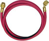 """Mastercool 72"""" Red R134a Hose with 1/2"""" Acme-F and 14mm-M Auto A/C Fittings"""