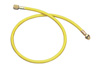 """Mastercool 72"""" Yellow R134a Hose without Shut-Off Valve"""