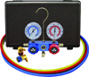 Mastercool Automotive R134a 2-Way Manifold Gauge Set