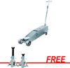 OTC Tools & Equipment 10-Ton Service Jack with FREE 12-Ton Stinger® Jack Stands