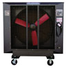 "PolarCool 48"" Powder Coated Variable Speed Fan, Black"