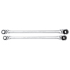 Platinum 2 Pc. X-Long Ratcheting Wrench Set 4 Metric Sizes