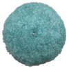 "Presta 7-1/4"" Green Blended Wool Light Cutting/Polish Pad"