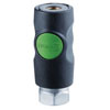"Prevost 1/4"" FNPT High Flow Smart Safety Coupling"