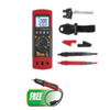 Power Probe Hybrid-Safe CAT-IV 600V  Digital Multimeter w/FREE DC Voltage Tester