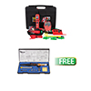 Power Probe Power Probe 4 Master Combo Kit, Red W/FREE Power Probe Solder Kit