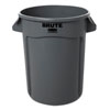 RCP-263200GY - Rubbermaid Commercial Round Brute Container, Plastic, 32 Gal, Gray