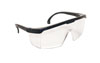 SAS Safety Black Frame Hornets™ with Clear Lens