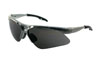 SAS Safety Gray Frame Diamondbacks™ Safety Glasses with Gray Lens