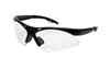 SAS Safety Black Frame Diamondbacks™ Safety Glasses with Clear Lens
